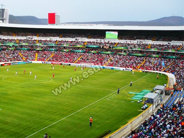 墨西哥足球场户外LED全彩显示屏