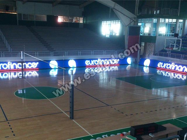 黎巴嫩室内LED全彩球场显示屏