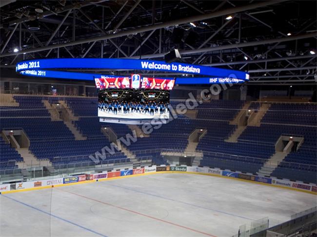 斯洛伐克室内冰球场馆LED显示屏