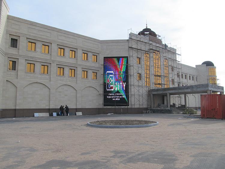 哈萨克斯坦P25未来系列户外LED显示屏