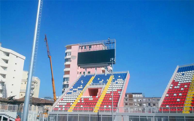 阿尔巴尼亚球场 P10户外led显示屏