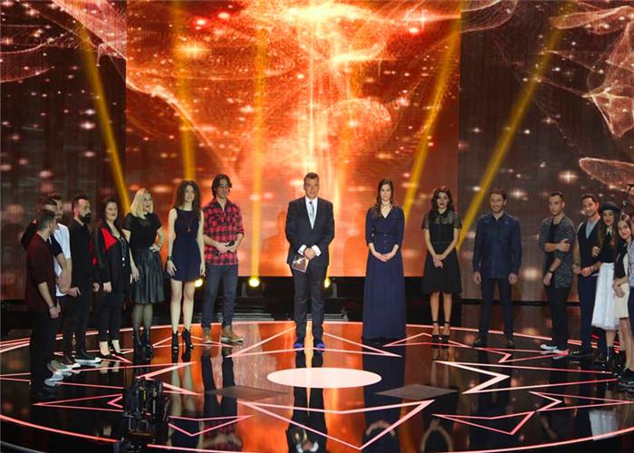 希腊雅典选秀节目炫彩Plus LED显示屏项目