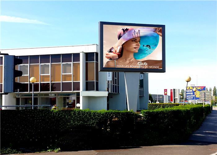 易事达户外LED显示屏应用在法国的项目