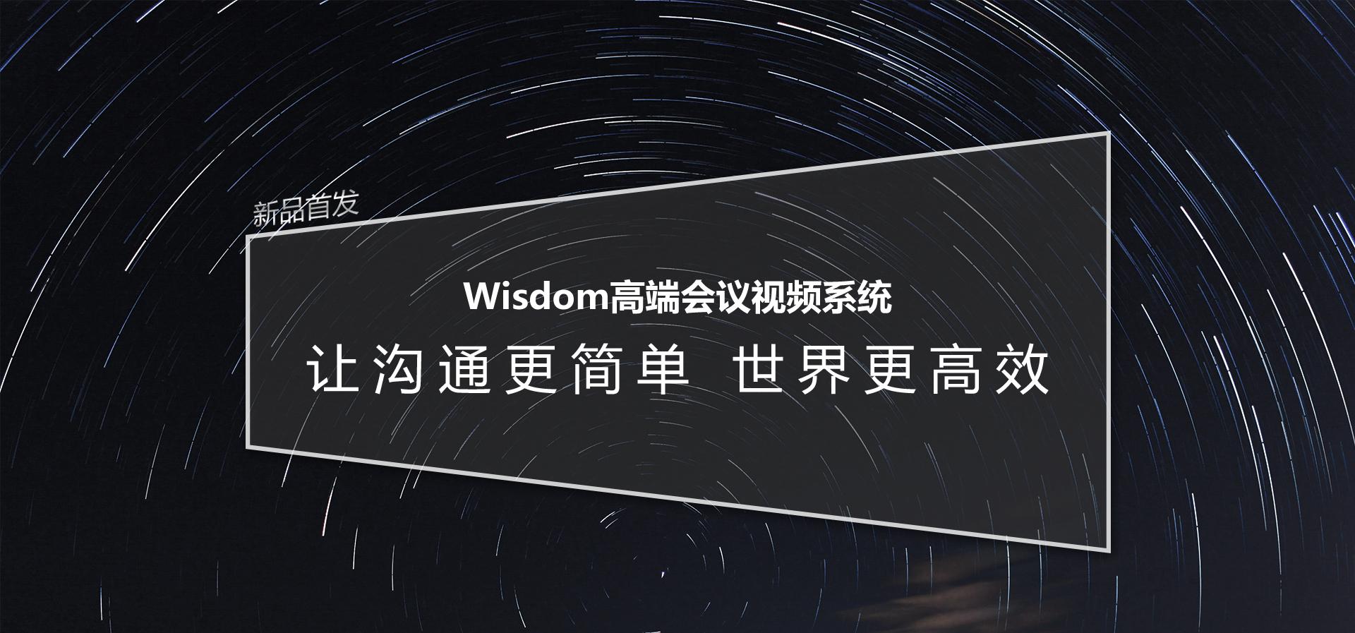 wisdom高端会议视频系统