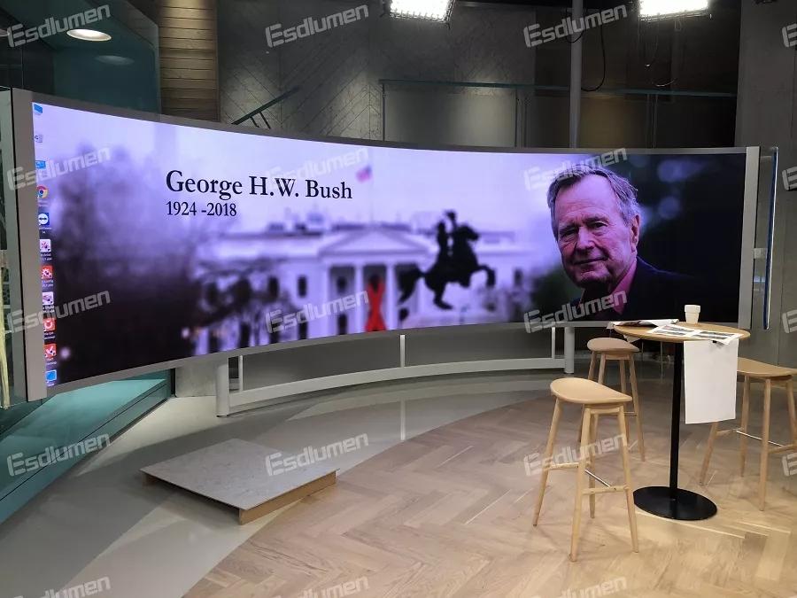 易事达LED小间距助力欧洲知名电视台直播间