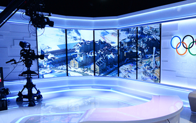 易事达LED小间距助力平昌奥林匹克冬季运动会