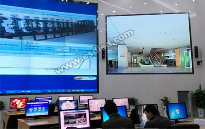 中石油长庆油田监测中心P2.5小间距LED显示屏