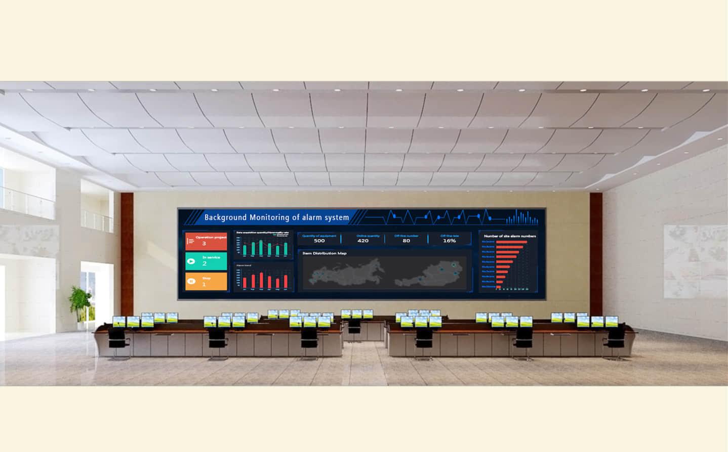 可视化监控室-LED显示屏