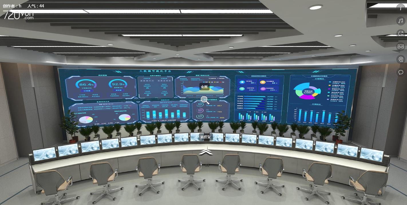 LED显示屏监控指挥中心应用