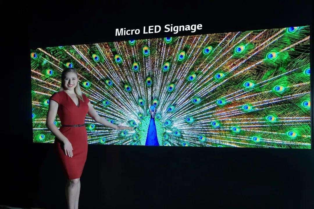 micro LED显示屏