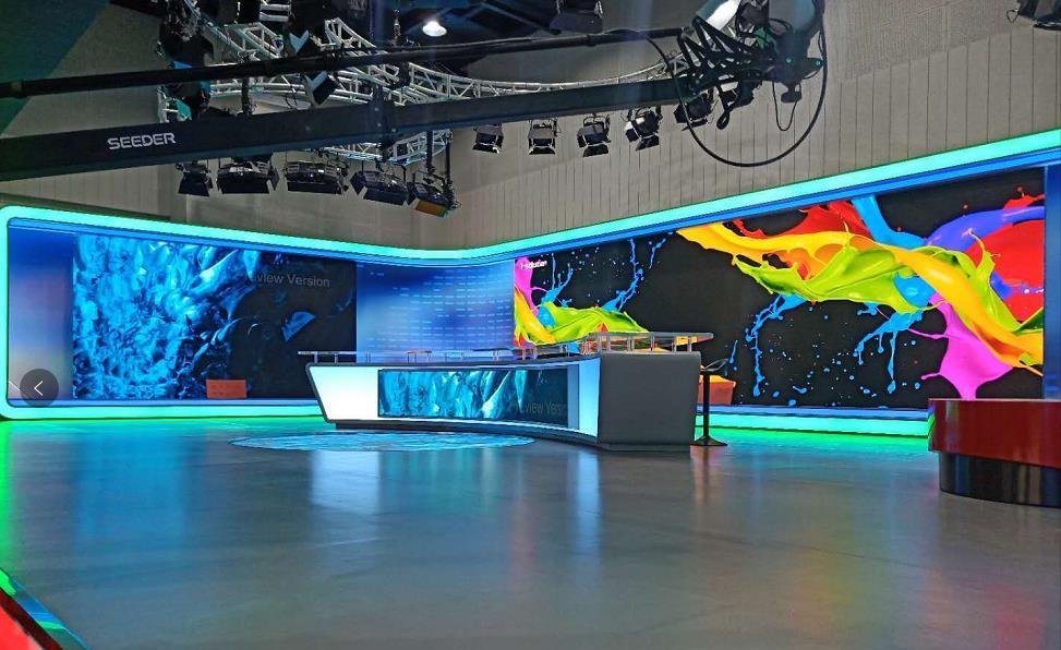 """易事达""""三真""""解决方案,打造上海某电视台多功能演播室"""