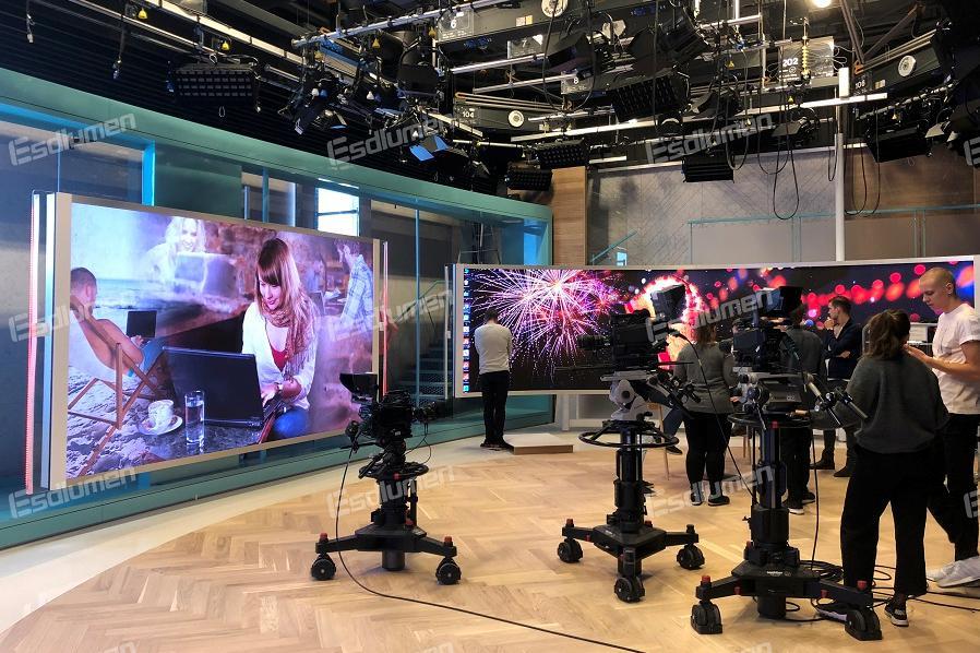 易事达挪威某电视台演播厅项目