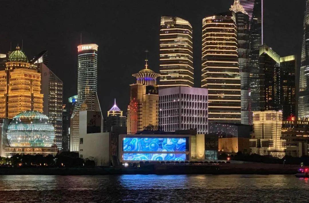 """【联建案例】巨幅户外小间距造就""""上海显示之最""""!"""